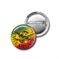 "Button ""Logo Reggae 1"""