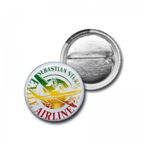 "Button ""Logo Reggae 2"""
