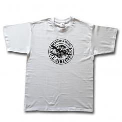 "T-Shirt ""Logo Plane"" (white)"